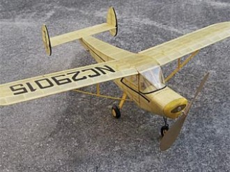 General Aviation Skyfarer model airplane plan