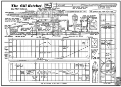 Gili Hatchet model airplane plan