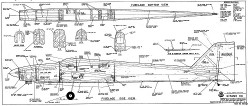 Gitano 60 RCM-1165 model airplane plan