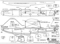 Golden Oldie Floats RCM model airplane plan