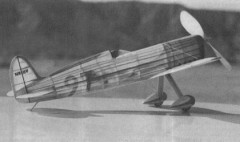 Gordon Israel model airplane plan