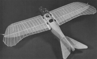 Gotha Taube model airplane plan