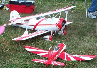 1/4 Scale Great Lakes Special model airplane plan