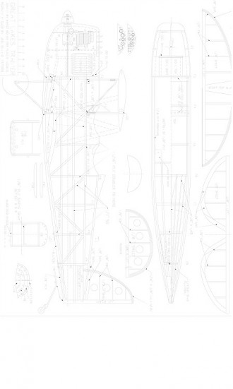 Great Lakes Trainer 2T-1A model airplane plan