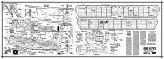 Grumman AG Cat model airplane plan