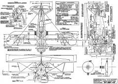 Grumman F-3F 1 model airplane plan