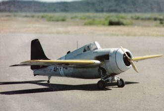Grumman FM-2 Wildcat model airplane plan
