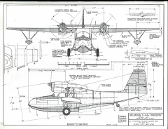 Grumman G-44A model airplane plan