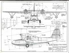 Grumman G-44A model airplane plan