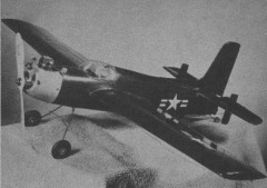 Grumman Guardian model airplane plan