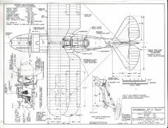Grumman J2F-5 model airplane plan