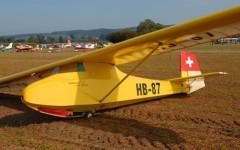 Grunau Baby II model airplane plan