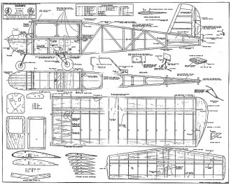 Guidato model airplane plan