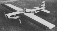 Gussets model airplane plan