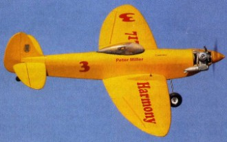 Harmony model airplane plan