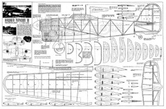 HawkerTyphoon1B model airplane plan