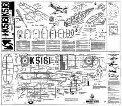 Hawker Henley Whitman model airplane plan