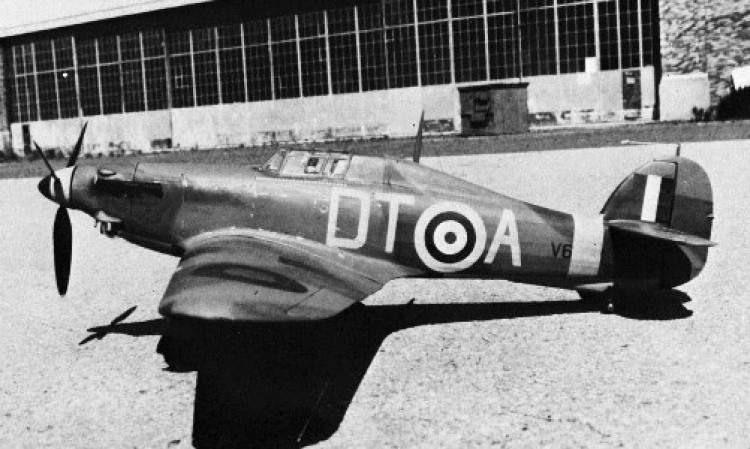 Hawker Hurricane by RM model airplane plan