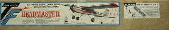 Headmaster model airplane plan