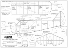 Stewart Headwind model airplane plan