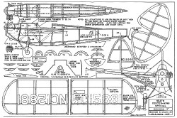 Heath Center-Wing Special 13in model airplane plan