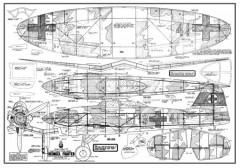 Heinkel 112B model airplane plan