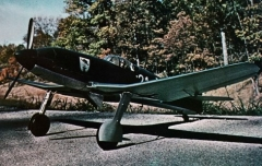 Heinkel He 100 model airplane plan