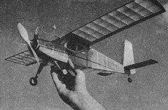 Helio Courier model airplane plan