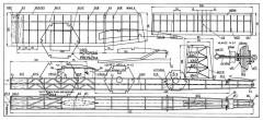Hexagon model airplane plan