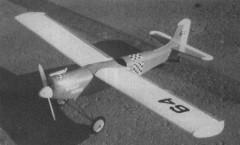 Holly Hawk model airplane plan