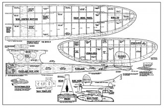 Honey B model airplane plan