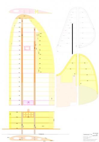 Howard DGA-5 Ike model airplane plan