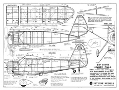 Howard DGA-8 model airplane plan