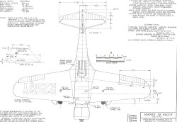 Huges 1B-Racer model airplane plan