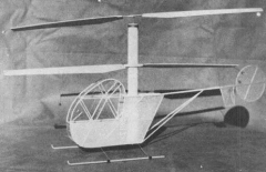 Hughes 300 model airplane plan