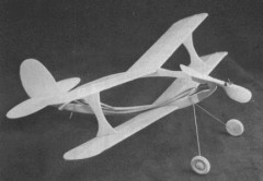 I-Strutter model airplane plan