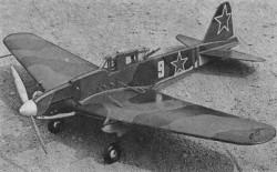 IL-2 Sturmovik model airplane plan