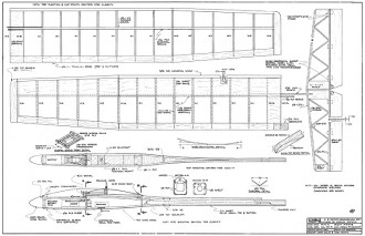 Icarus 2M model airplane plan