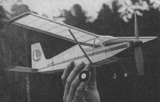Itoh 62 model airplane plan