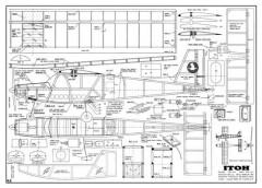 Itoh 62 model airplane plan