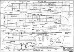 Jaeger RCM-1238 model airplane plan