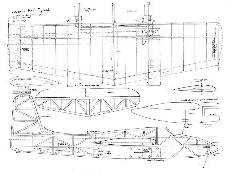 Tigercat Aircraft Carrier (by Jan Odeyn) model airplane plan
