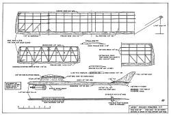 Jatex MAN 1964 model airplane plan