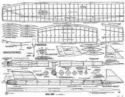 Jersey Jester 1955 model airplane plan