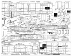 Jetco Navigator model airplane plan