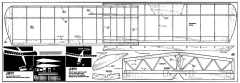 Jiffy RM 36in model airplane plan