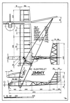 Jimmy model airplane plan