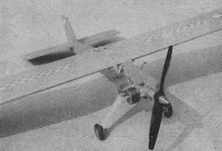 Jiskra model airplane plan