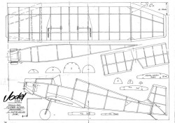 Jodel D9 model airplane plan