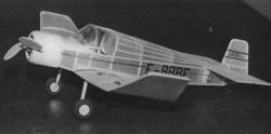 Jodel D 11 model airplane plan